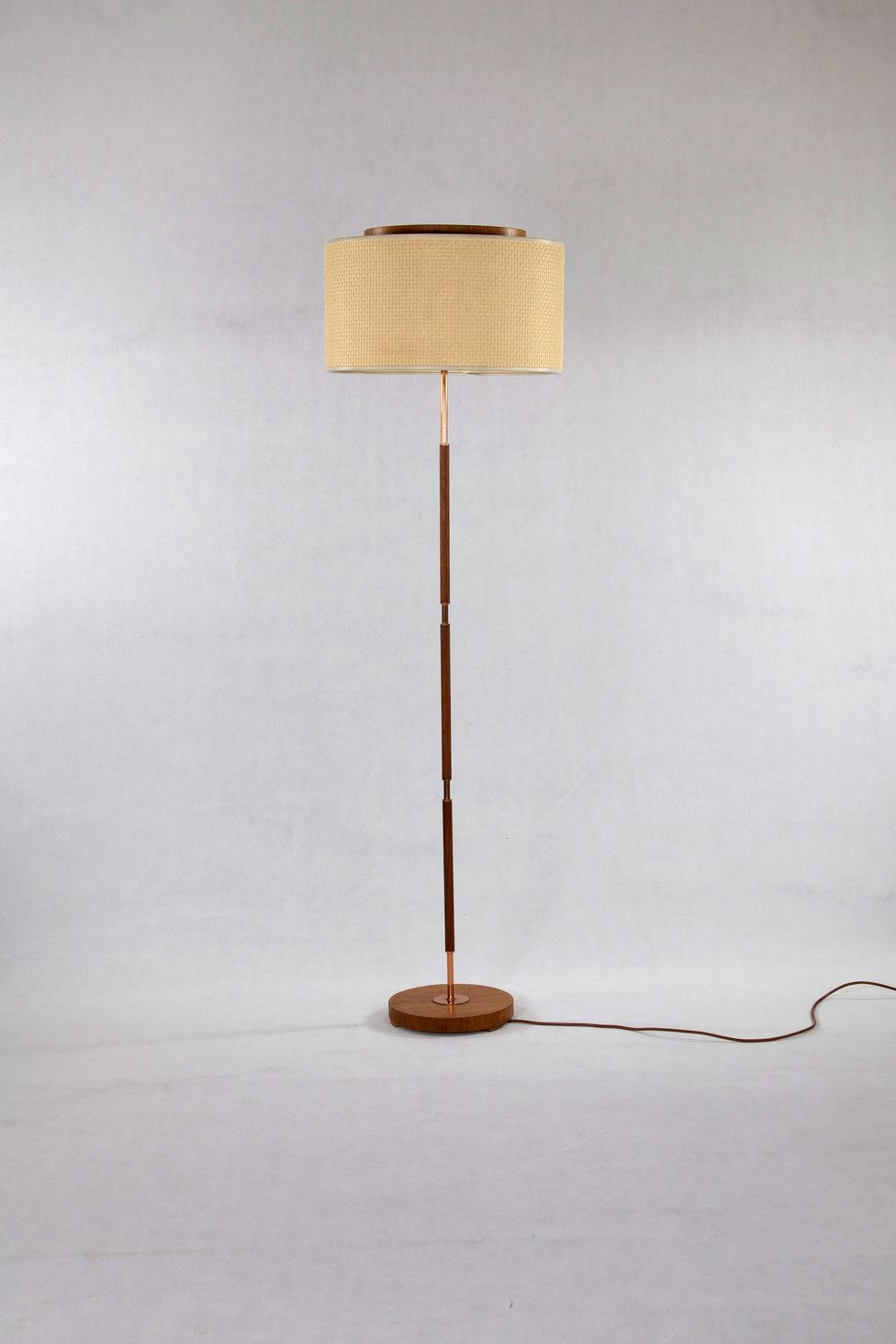 Liebenswert Stehlampe Kupfer Referenz Von To En:] 60iger Jahre Temde Stehleuchte