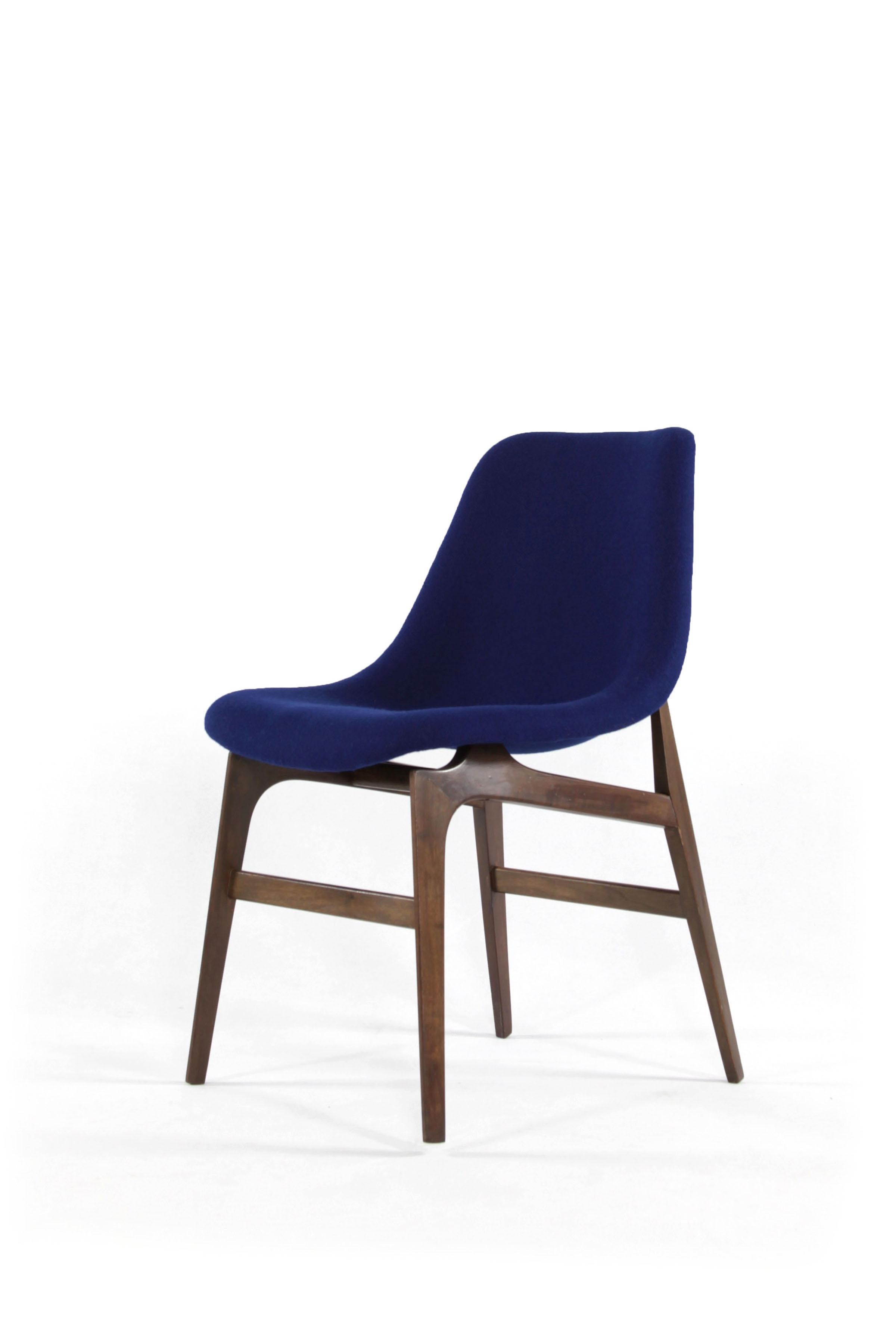 m belagentur alge id 435 6er set tiefblaue st hle. Black Bedroom Furniture Sets. Home Design Ideas